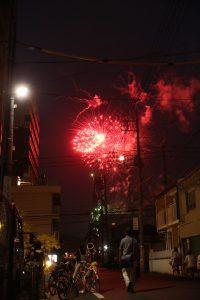 毎年恒例、岡山花火大会